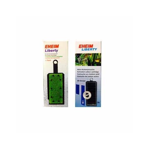Eheim Liberty (2u) - Filtradores foamex/carbón activo