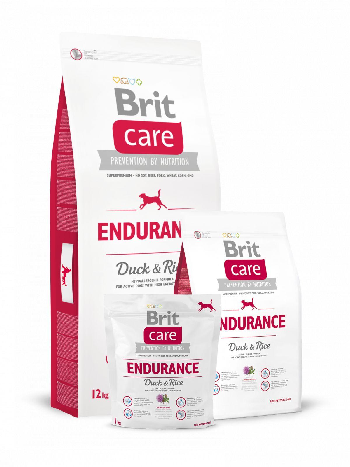 Pienso para perro adulto de pato+arroz Endurance,Brit Care