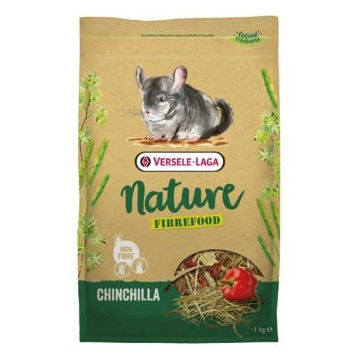 Fibrefood Chinchilla Nature 1kg Versele Laga