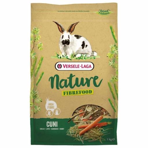 Fibrefood Cuni Nature 1 Kg Versele Laga para conejo [0]