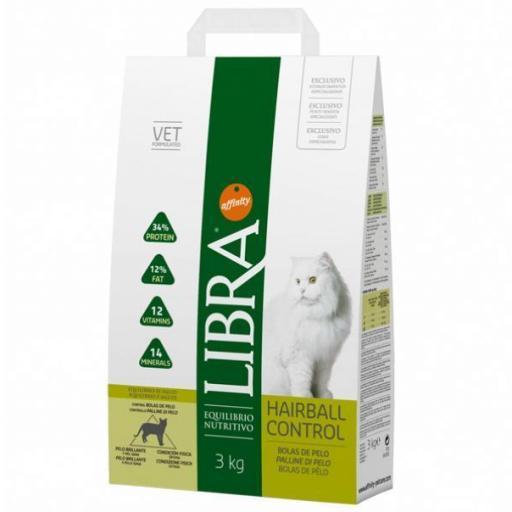 Libra Gato Hairball 3kg