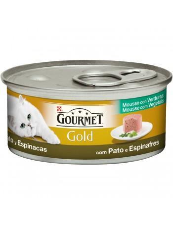 GOURMET GOLD Mse Pato&Espinaca