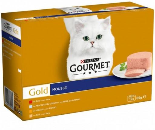 GOURMET GOLD Mse Surtido  (8x85g)