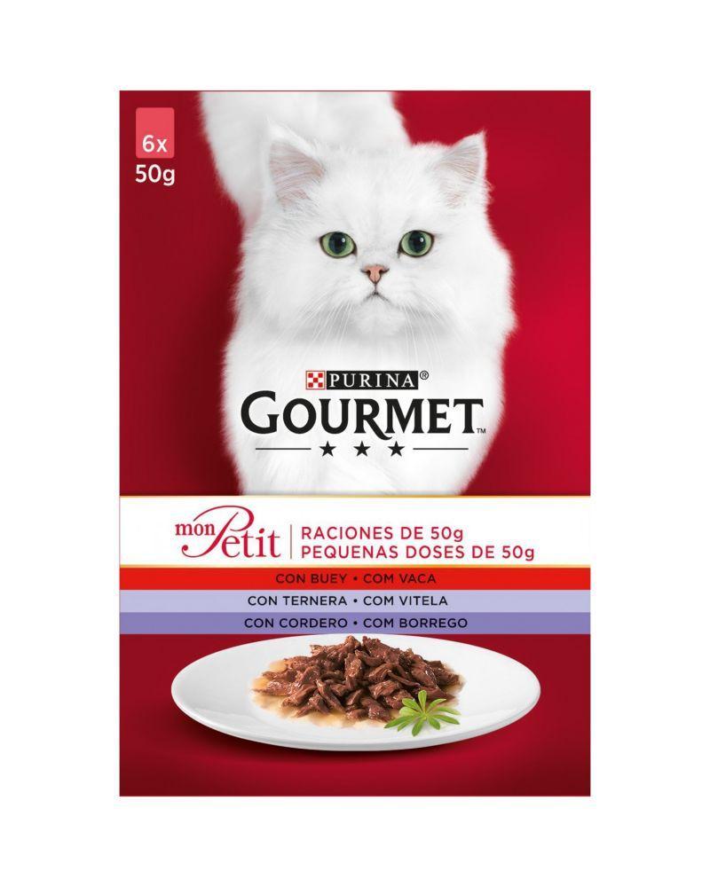 GOURMET Mon Petit de Carnes 6x50g