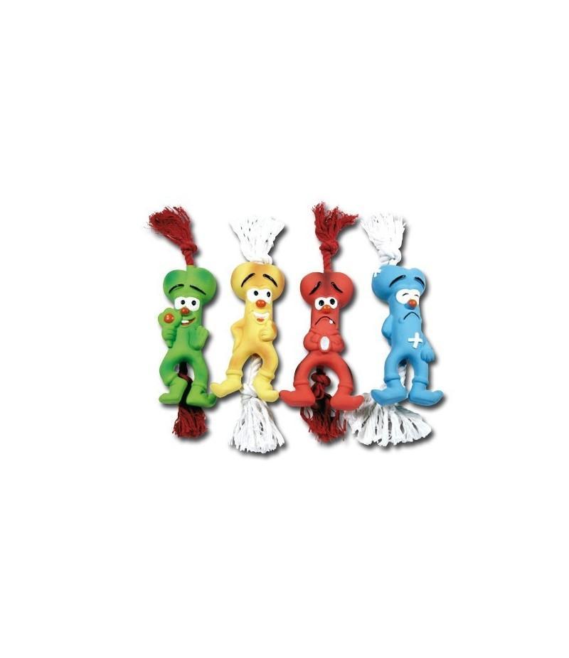 Huesitos colores de látex 30 cm, Nayeco
