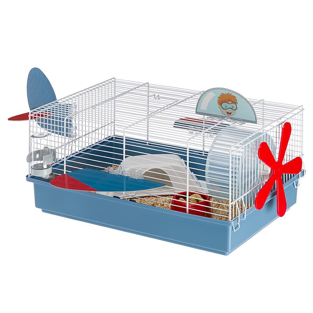 Jaula Hamster Criceti 9 Avión, Ferplast