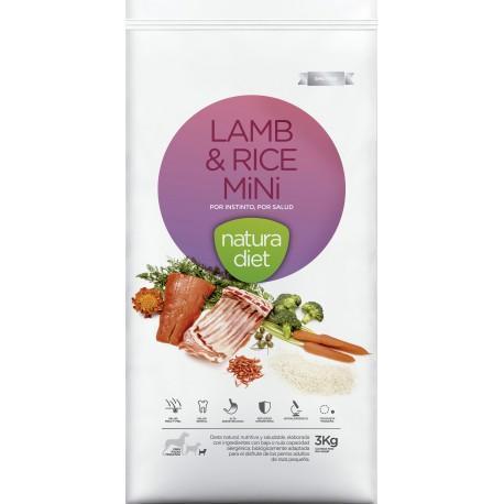 Natura Diet Lamb&Rice Mini, para razas pequeñas