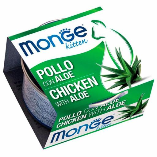 ​​Monge Fruits Pollo y Aloe - Kitten