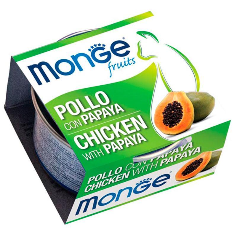 Monge Fruits Pollo y Papaya