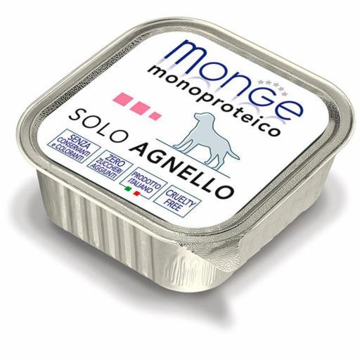 Paté Monge Monoproteico Solo Cordero