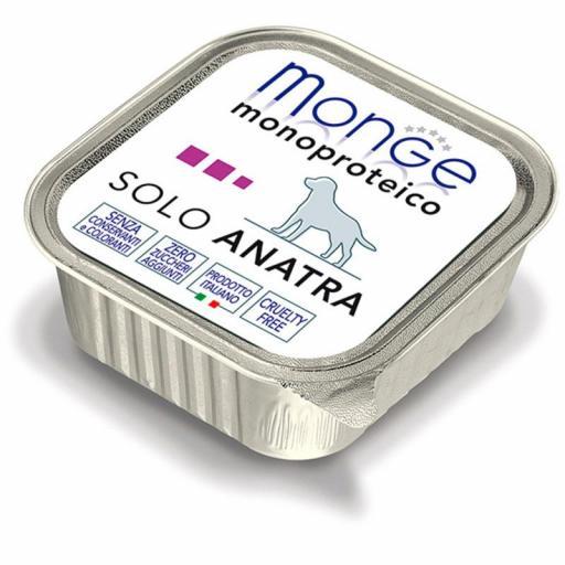 Paté Monge Monoproteico Solo Pato