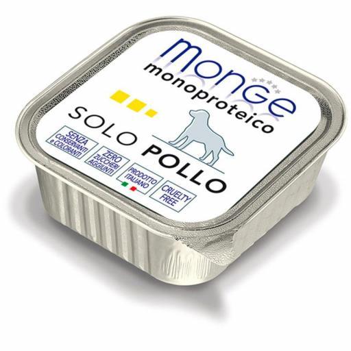 Paté Monge Monoproteico Solo Pollo