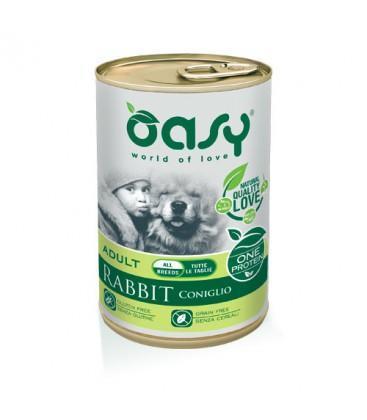 Lata para perro de conejo, Oasy