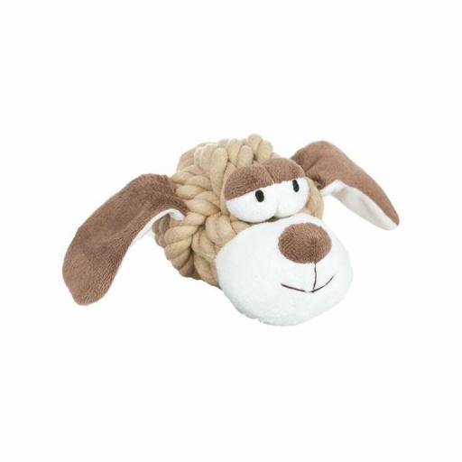 Pelota de cuerda Perro 8 cm, Nayeco