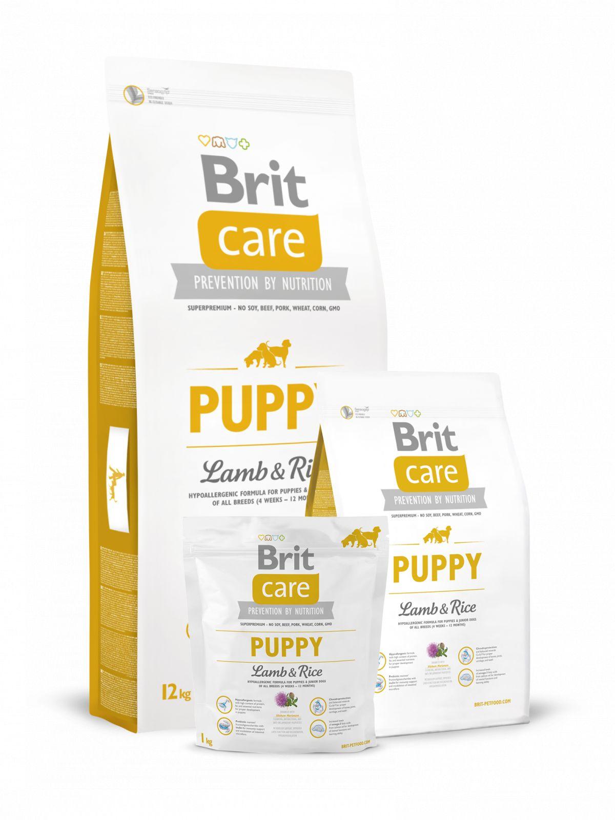Brit Care de cachorro Lamb&Rice, cordero+arroz