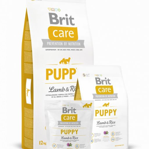 Brit Care de cachorro Lamb&Rice, cordero+arroz