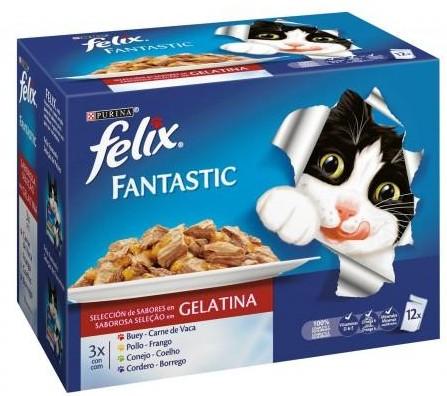FELIX FANTASTIC Festín de Carnes (12x100g) [0]