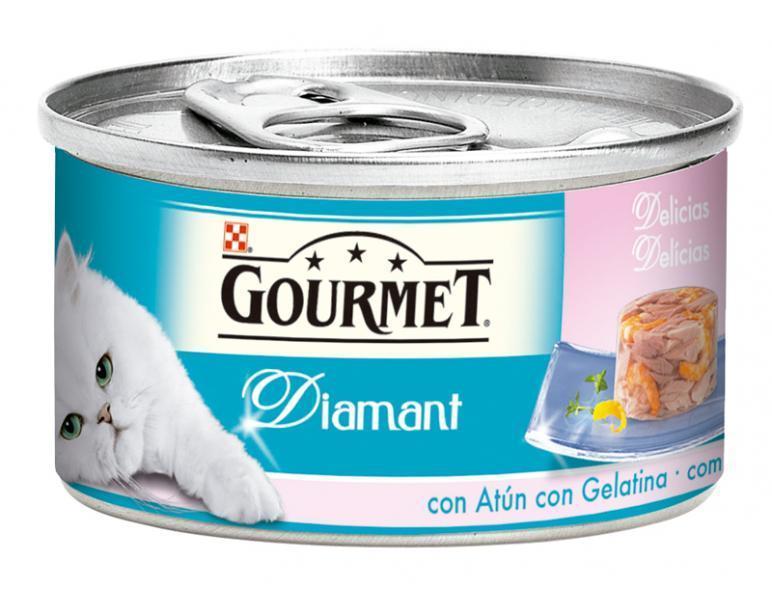 Gourmet Diamant Atun y Gambas 85gr