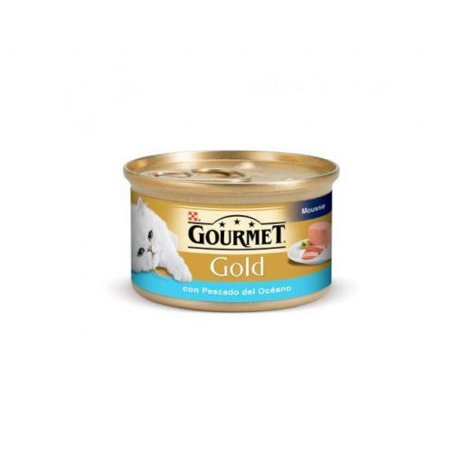 Gourmet Gold Gato Pescado del Oceano 85g