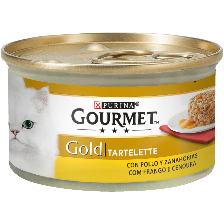 GOURMET GOLD Tartalette Pollo y Zanahoria