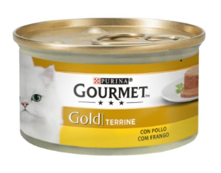 Gourmet Gold Terrine Pollo Gatos 85gr
