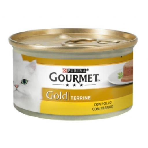 Gourmet Gold Terrine Pollo Gatos 85gr