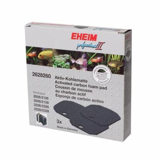 Almohadillas de filtro de carbono PRO II - Eheim