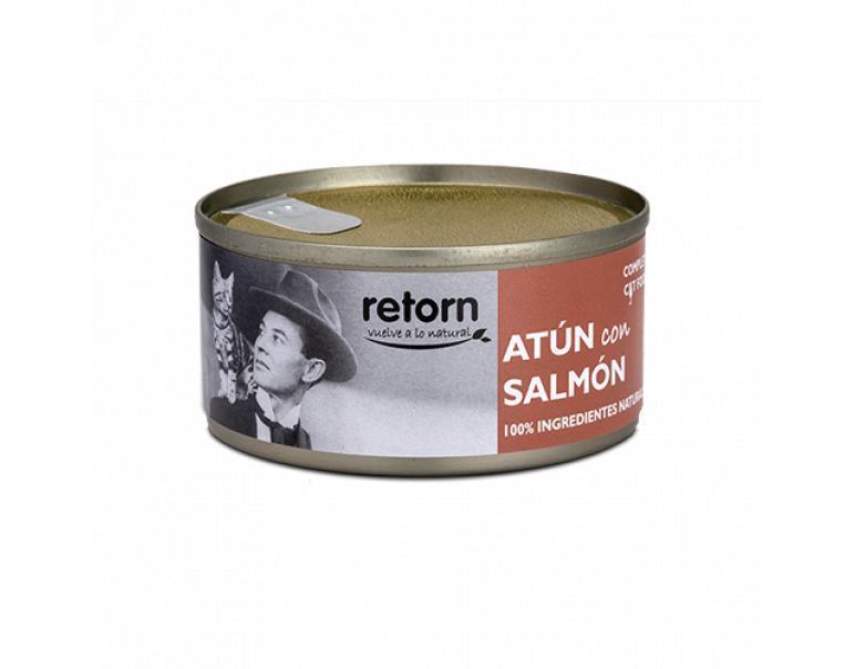 Lata gato atún+salmón Retorn