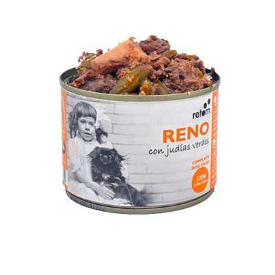 Lata para perro de reno+judias, Retorn