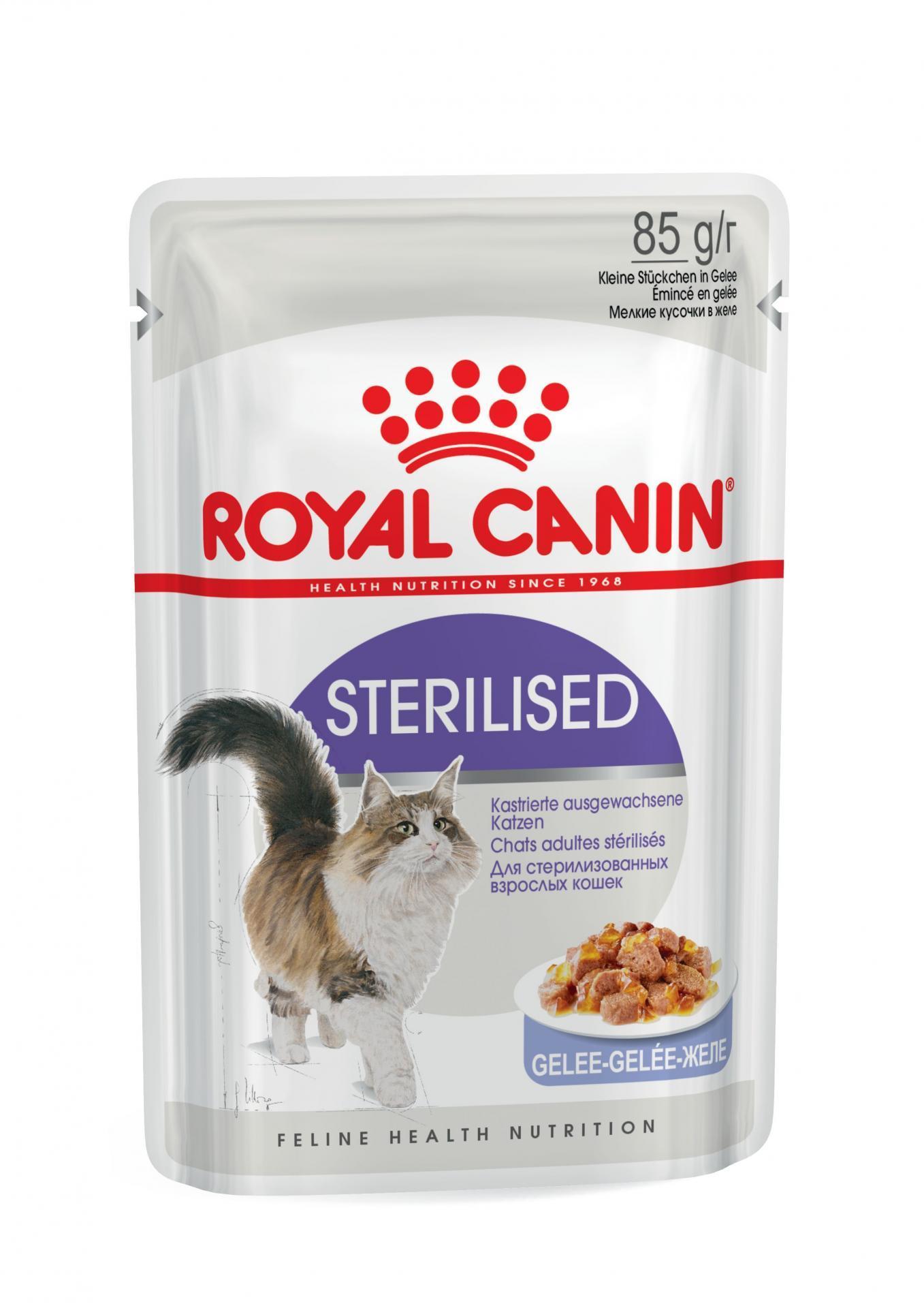 Royal Canin Sterilised Jelly 85gr