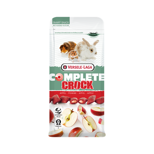 Snack Crock Apple Complete 50g Versele Laga para roedores [0]