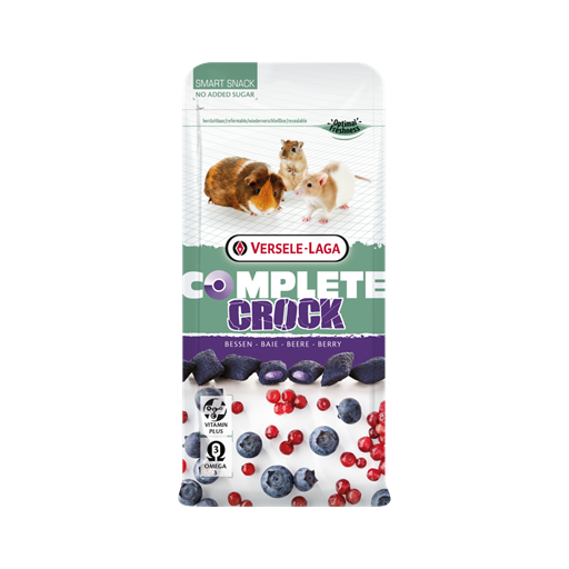Snack Crock Berry Complete 50g Versele Laga para roedores