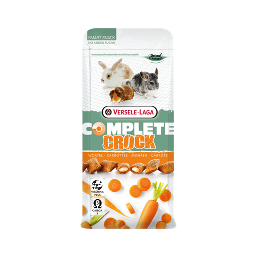 Snack Crock Carrot Complete 50g Versele Laga para roedores [0]