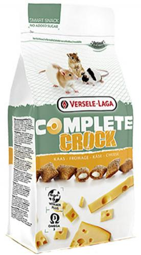 Snack Crock Chesse Complete 50g Versele Laga para roedores