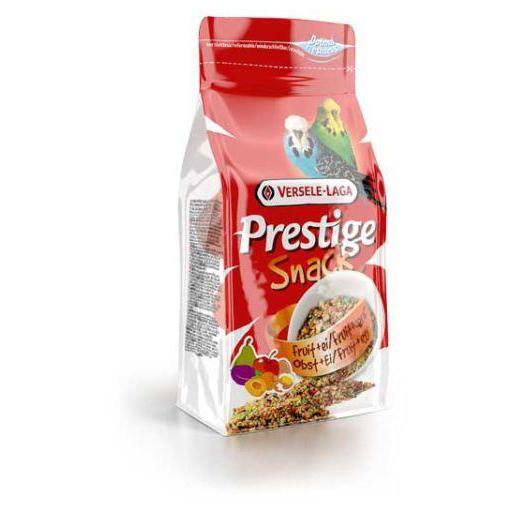 Snack Prestige Gra/Pericos 125g Versele Laga