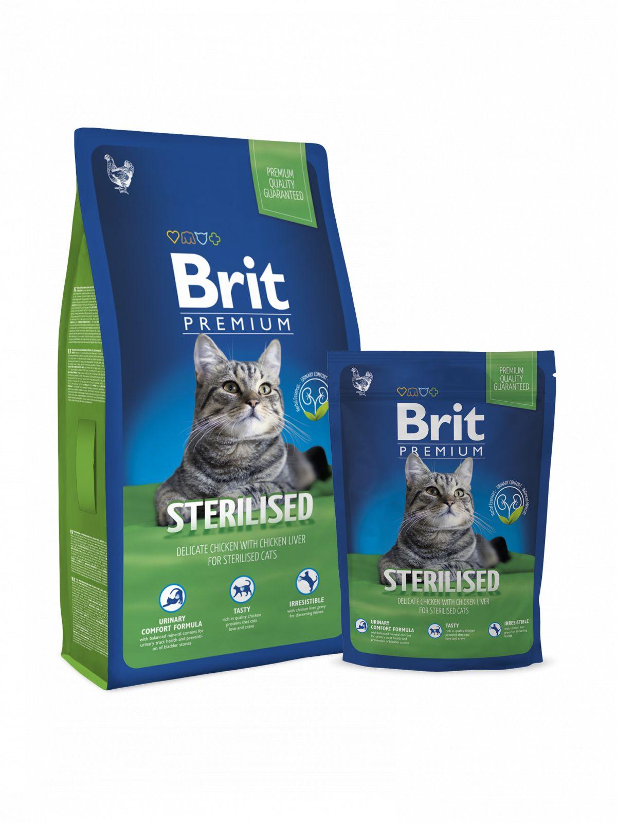 Brit Premium para gato Sterelised