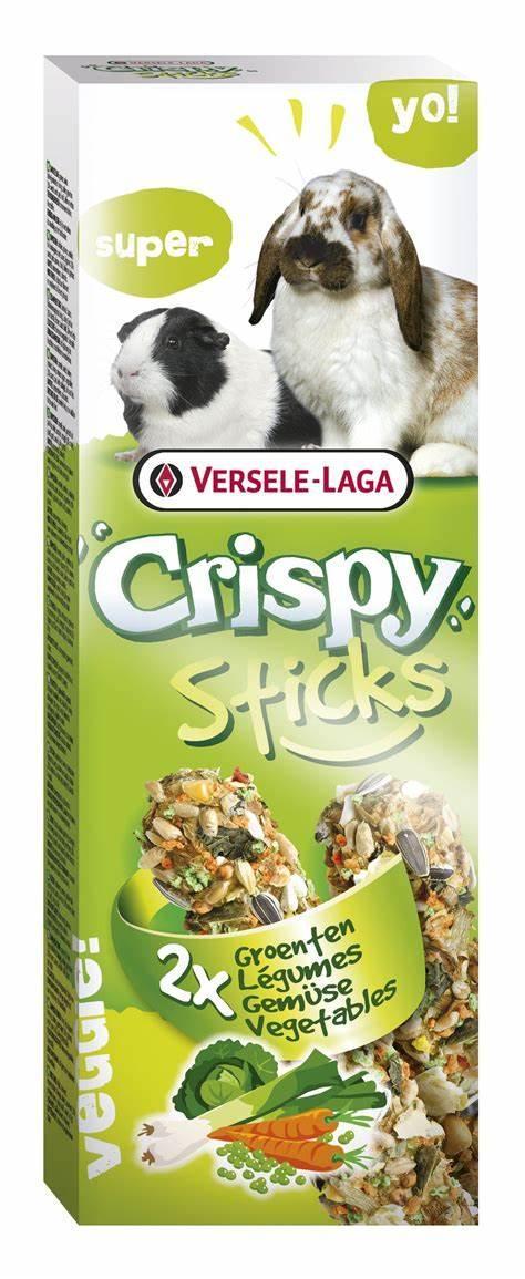 Stick Con Cobaya Vegetales 110g Versele Laga para conejos y cobayas