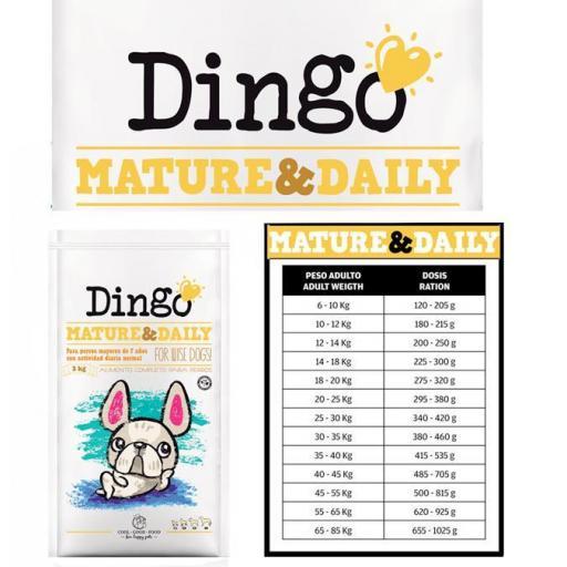 Dingo Mature & Daily  para perros + 7 años [1]