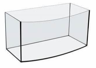 Tanque Acuario Oval Aquael 50cm  40 Litros