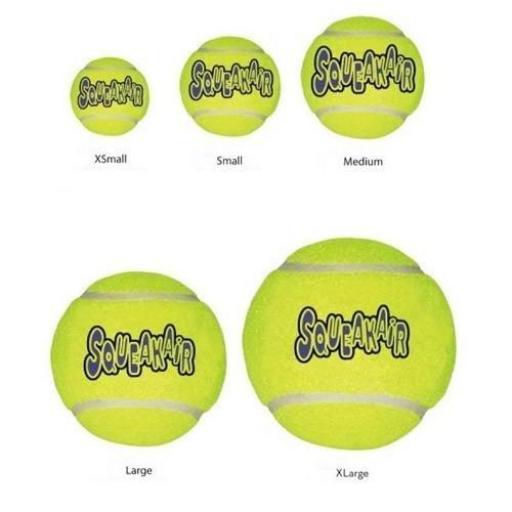 Air Kong Squeaker Tennis Ball(unidad), Kong [1]