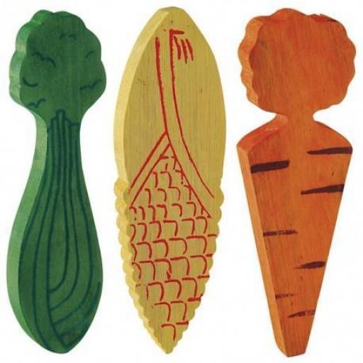 Verduras Madera, Higiene Dental, Ferplast