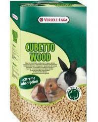 Viruta  Cubetto Wood 12 L. 7Kg Versele Laga