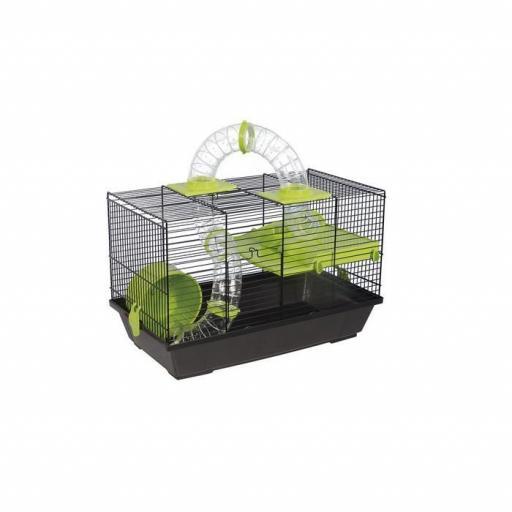 Jaula Hamster 938 Negra, Voltrega