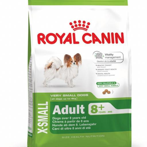 Royal Canin X-Small Adult +8 3kg