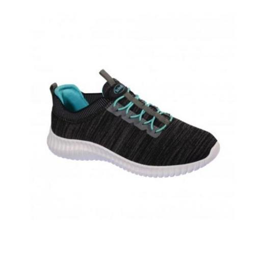 Zapatillas Chilly gris oscura Dr Scholl