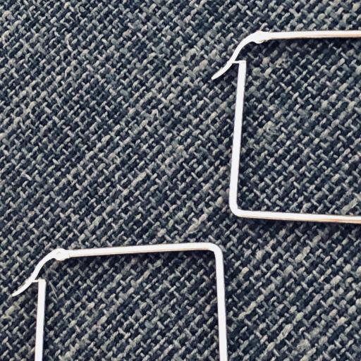 Pendientes  de acero rombo  [1]