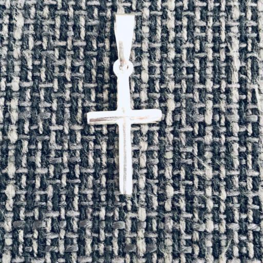 Colgante cruz de plata con cordón de cuero [1]
