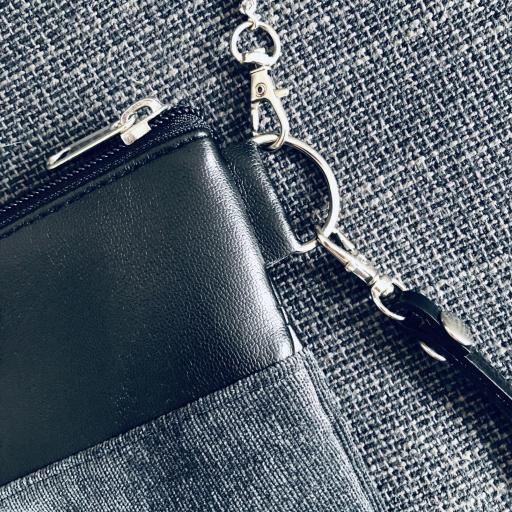 Bolso artesanal antimanchas color gris marengo [1]