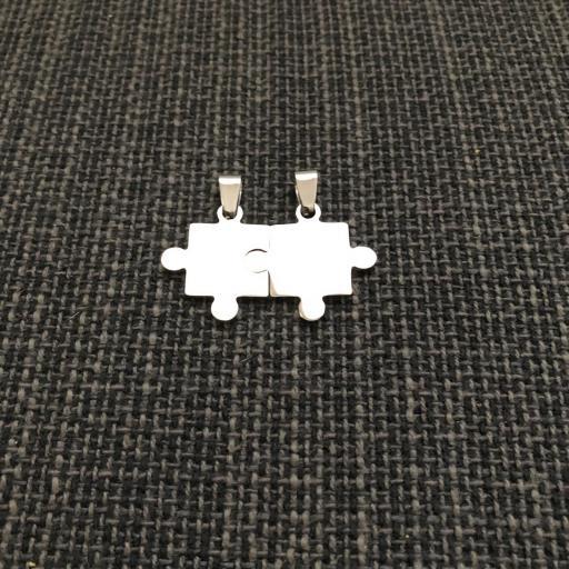 Colgante doble puzzle [2]