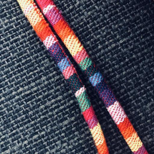 Cordón gafas redondo en tonos arcoiris [1]